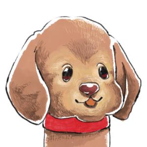 愛犬似顔絵アイコンA